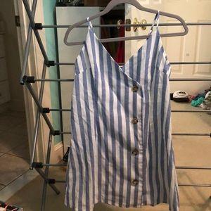 Dresses & Skirts - Blue/White sundress